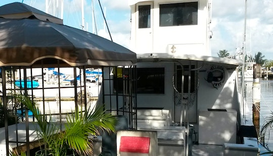 43ft Majestic Sport Fisher Charter In Key West To Dry Tortugas
