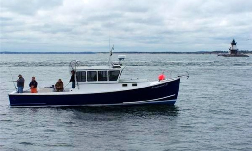 40ft young brothers sportfisherman boat charter in for Fishing trips nyc