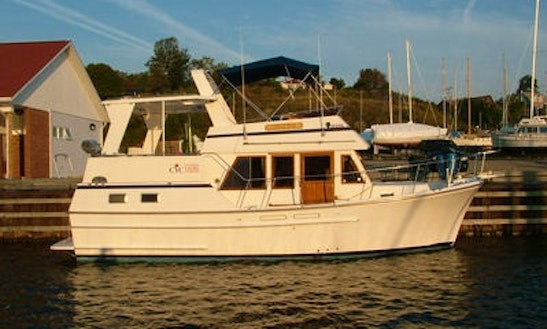 Charter Oceana 35 On Manitoulin Island