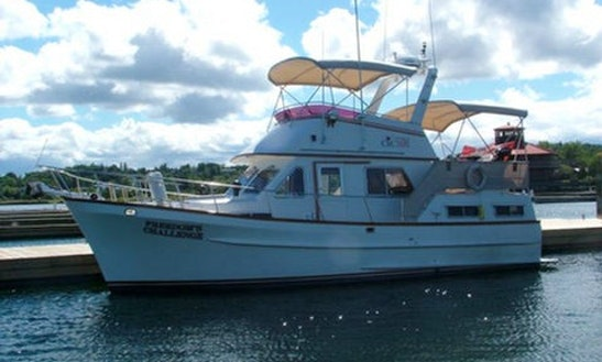 Charter Ct 35 Cruiser On Manitoulin Island