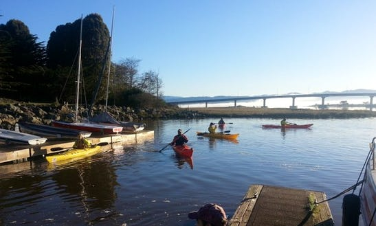 Full Moon Kayak Tour In Ukiah, California