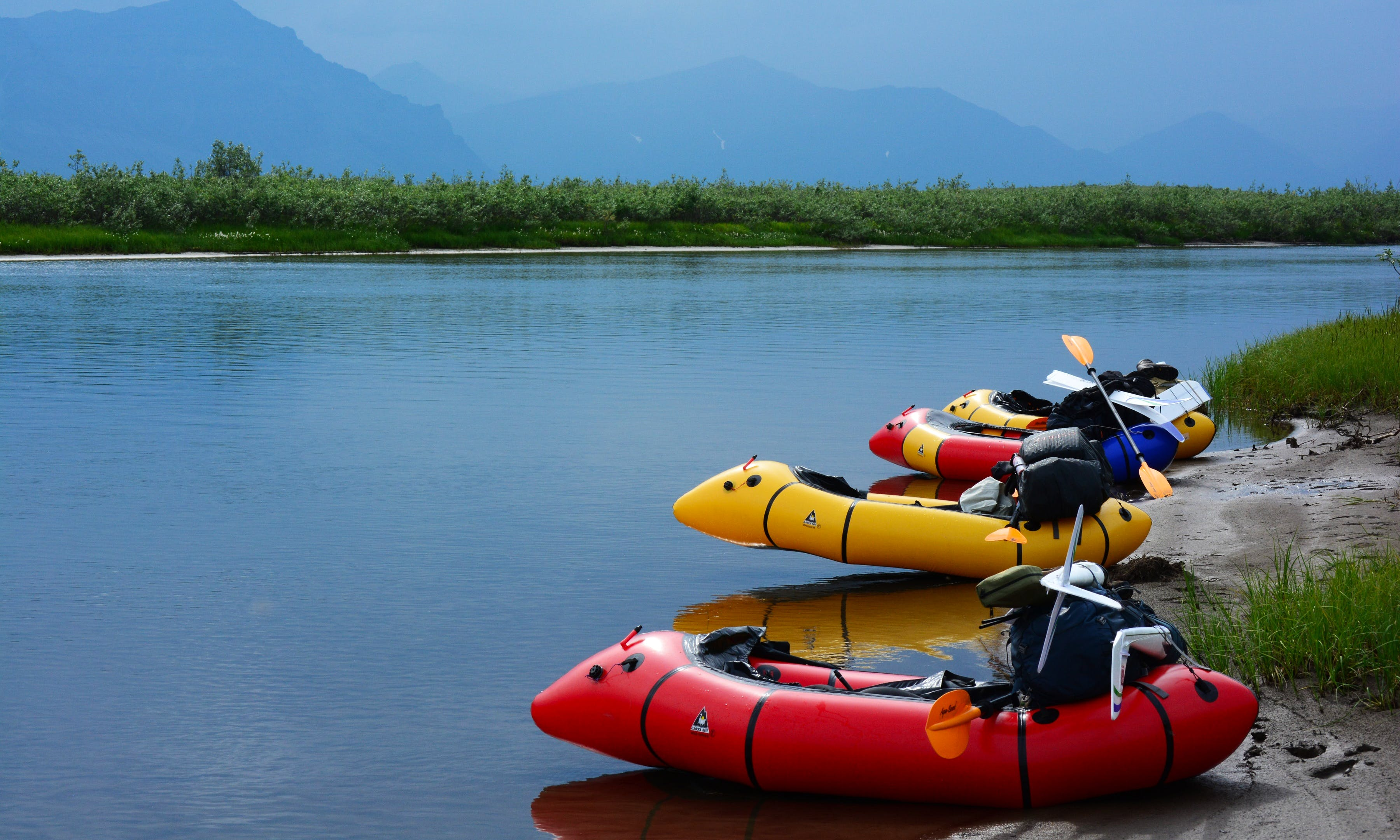 Packraft Rental in Jackson Hole