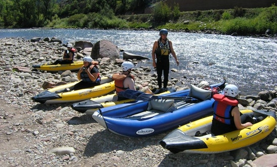 Inflatable Kayak Rental In Glenwood Springs, Colorado