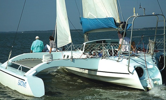 38ft Trimaran Cruising Catamaran Rental In Christiansted, U.s. Virgin Islands