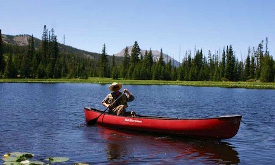 Canoe Rental In West Yellowstone, Montana