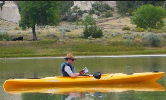 Double Kayak Rental In West Yellowstone, Montana