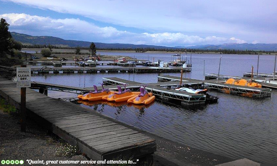 Paddle Boat Rental In West Yellowstone, Montana