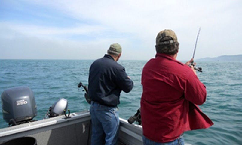 Guided Sport Fishing Charter in Blue Lake
