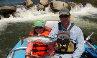 Guided Salmon Fishing Trip in Crested Butte, Colorado
