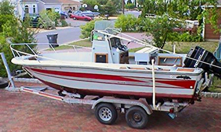 "Enjoy Fishing On ""Sea Challenger"" Center Console In Bricktown, New Jersey"