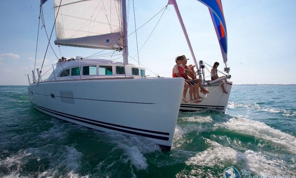 Sailing Cruiser 39 Lagoon 380 39 In Sant Francesc Xavier