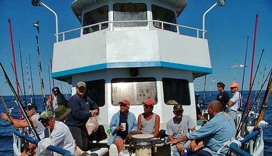 Enjoy Deep Sea Fishing On 65ft