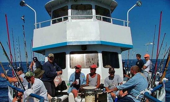 Enjoy Deep Sea Fishing On 65ft