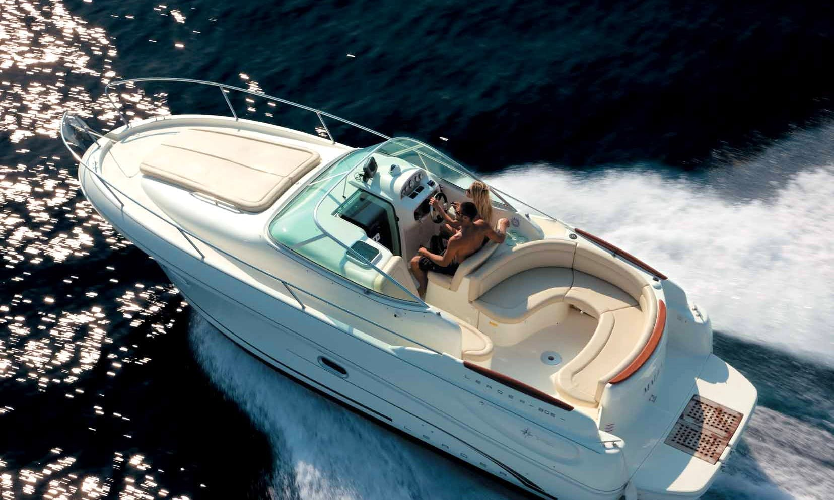 Jeanneau Leader 805 Motor Yacht Rental in Altea, Spain