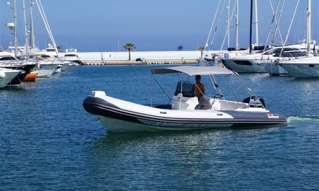 24' Valiant 750 Cruiser RIB Rental in Palma de Mallorca, Spain