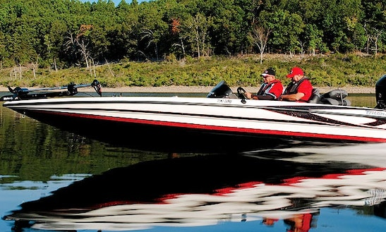 Guided Bass Fishing Trip On 21' Triton Bassmaster Boat In Kissimmee, Florida