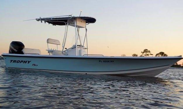 """Fishing Charter On 24ft """"Trophy"""" Bayliner Boat In Pensacola, Florida"""