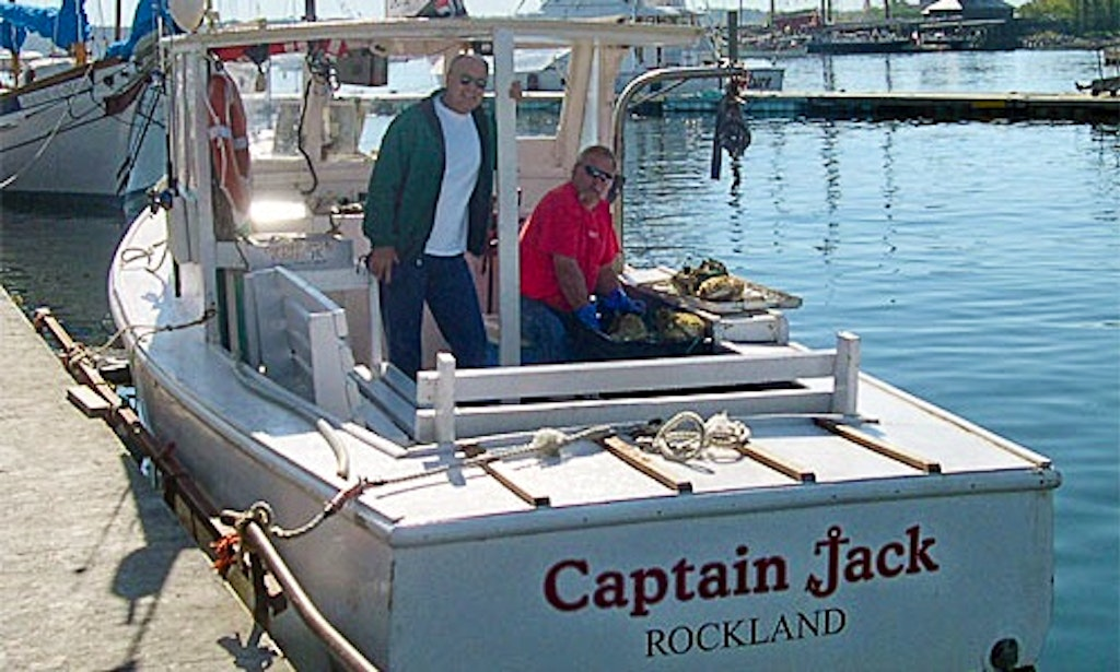 30 39 trawler lobster boat in rockland getmyboat for Fishing boat rentals near me
