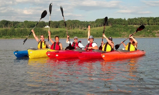 Guided Kayak Tours In Saugerties, New York