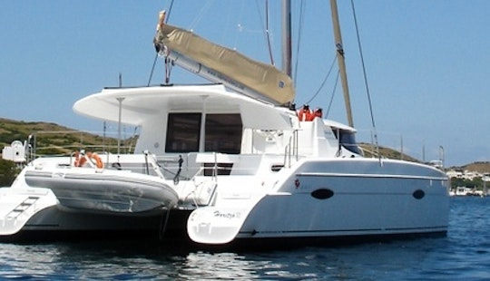 39ft Cruising Catamaran Charter In Balearic Islands, Spain