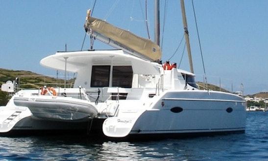 39ft Cruising Catamaran Charter In Balearic Islands, Spain