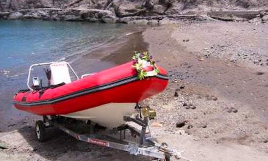 Dive Boat In Adeje - Tenerife