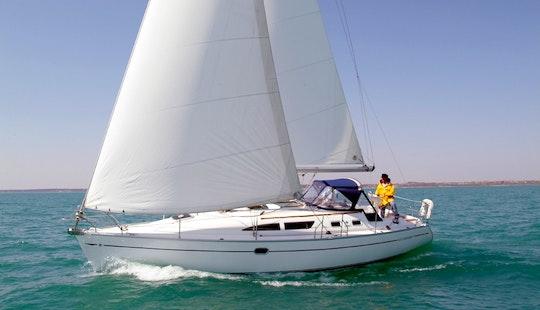 Hire Sun Odyssey 37 Sailing Yacht In Ibiza