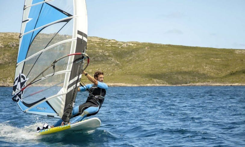 Windsurfing in Fornells