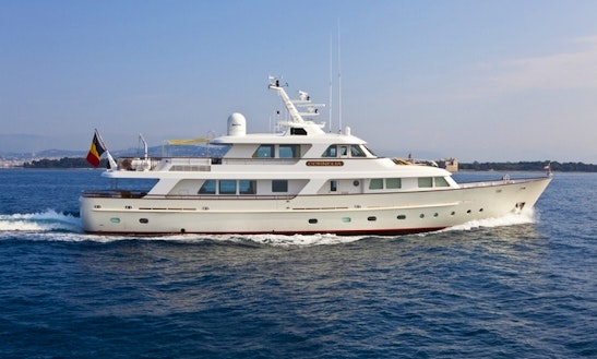 Crewed Charter On Cornelia In Cannes