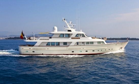 Crewed Charter On Cornelia In Cannes