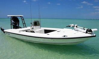 17' Bass Boat Charter in Stuart, Florida