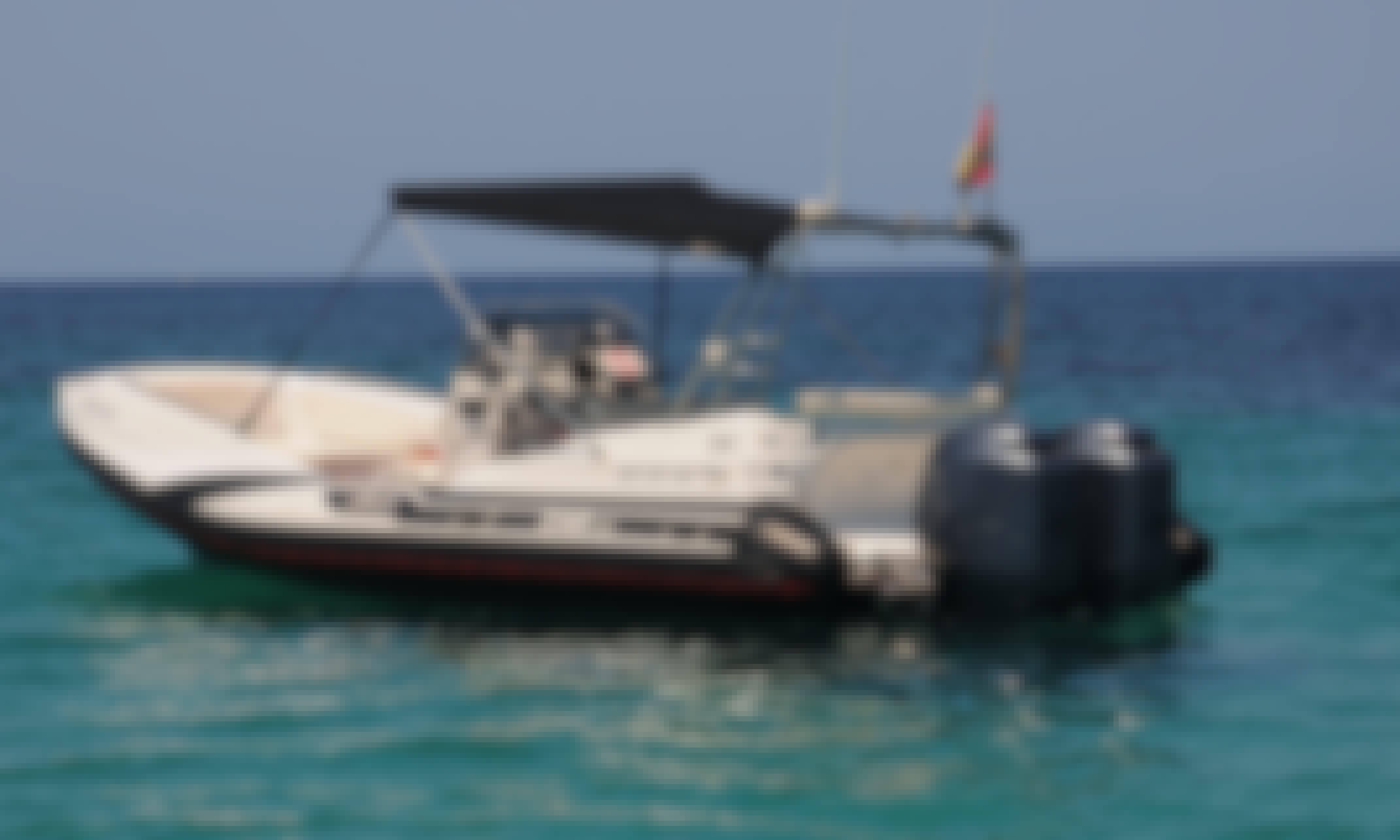 Luxury RIB ''Zar 75'' Charter in Illes Balears