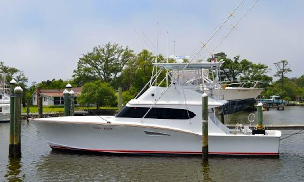 Fishing charter on 50ft chaser yacht in hatteras north for Hatteras fishing charters