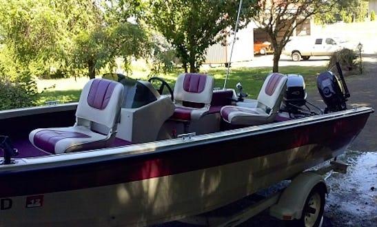 Crestliner Fish Hawk 165 Boat Rental In Oregon City