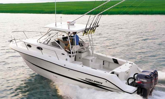 28ft Hydra Sportfisherman Boat Charter In Old Saybrook, Connecticut