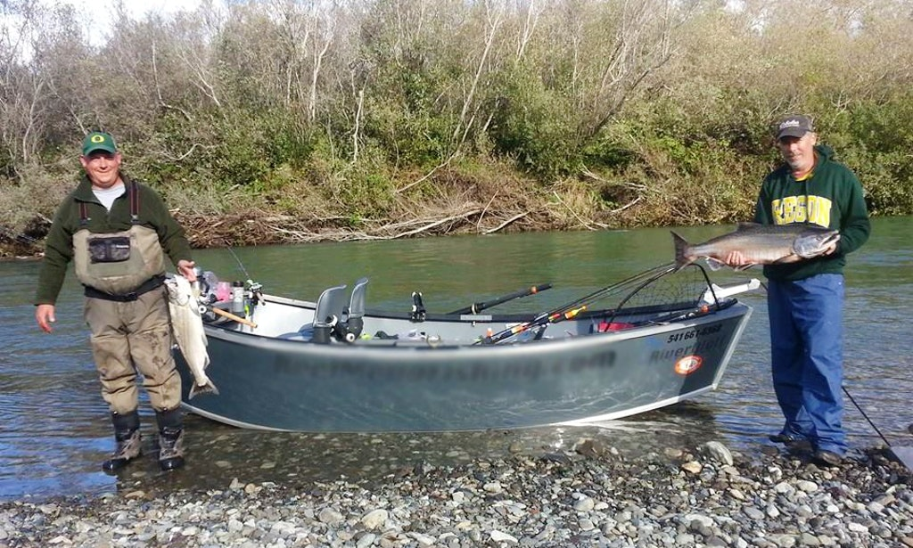 Guided fishing trip with joe mello in roseburg oregon for Fishing trips oregon