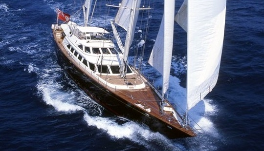 Charter A 12 Person Sailing Mega Yacht In Toscana, Italy