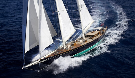 Crewed Charter On Sailing Yacht In Italy