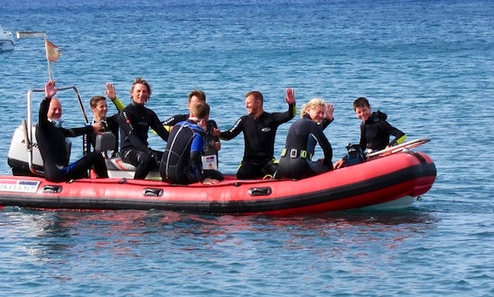 Diving Boat Charter In Fuerteventura Spain