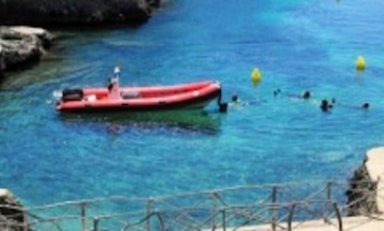 Scuba Diving Boat Charter In Ciutadella De Menorca Spain