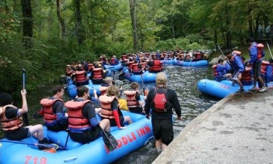 White Water Rafting Rental Or Guided Trips In Bryson City, Nc