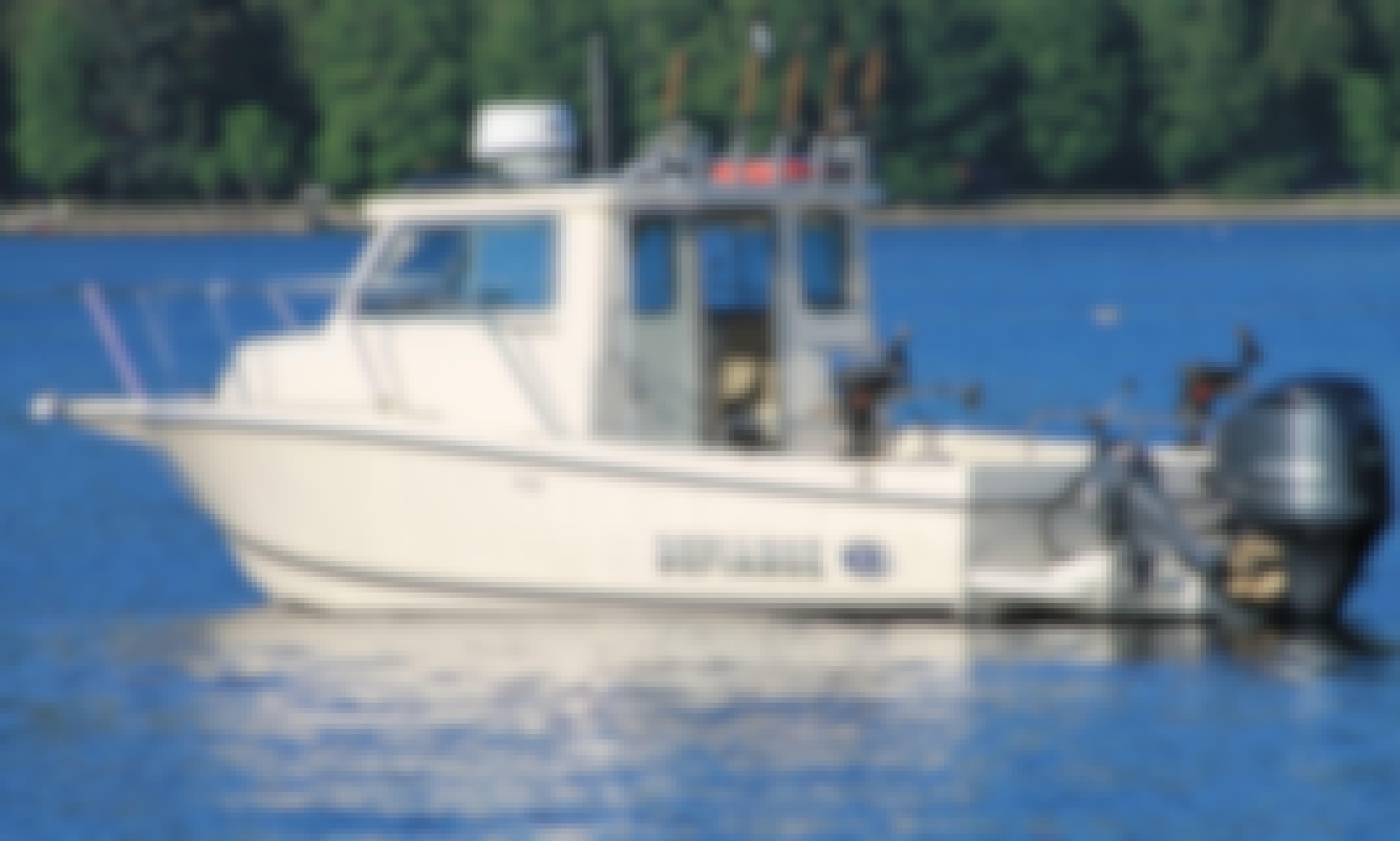 25ft Defiance Boat Sportfisherman Boat Charter in Vancouver, British Columbia