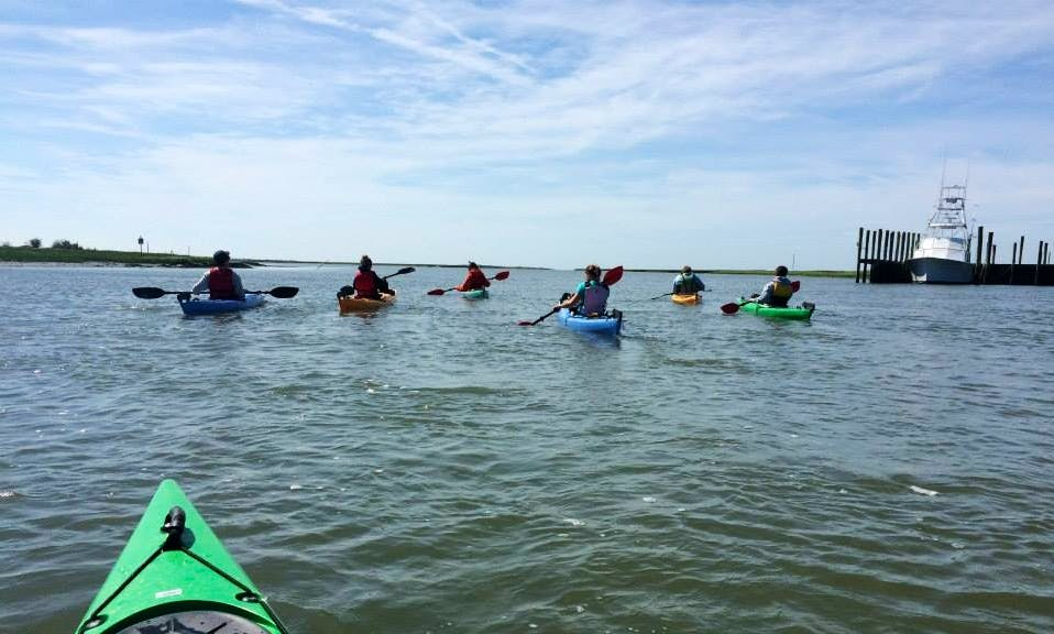 Single Kayak for Rent in Cape Charles