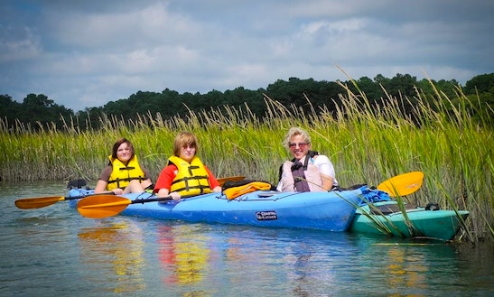 Double Kayak For Rent In Cape Charles
