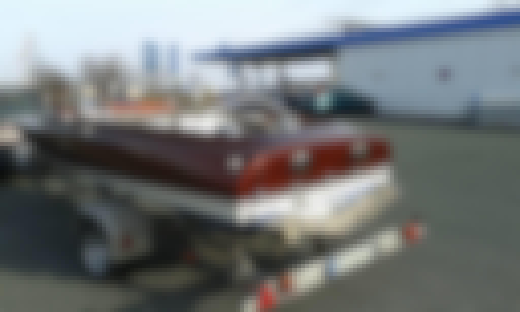 Classic Speedboat Aquacraft California Boat Rental in Wiesbaden, Germany