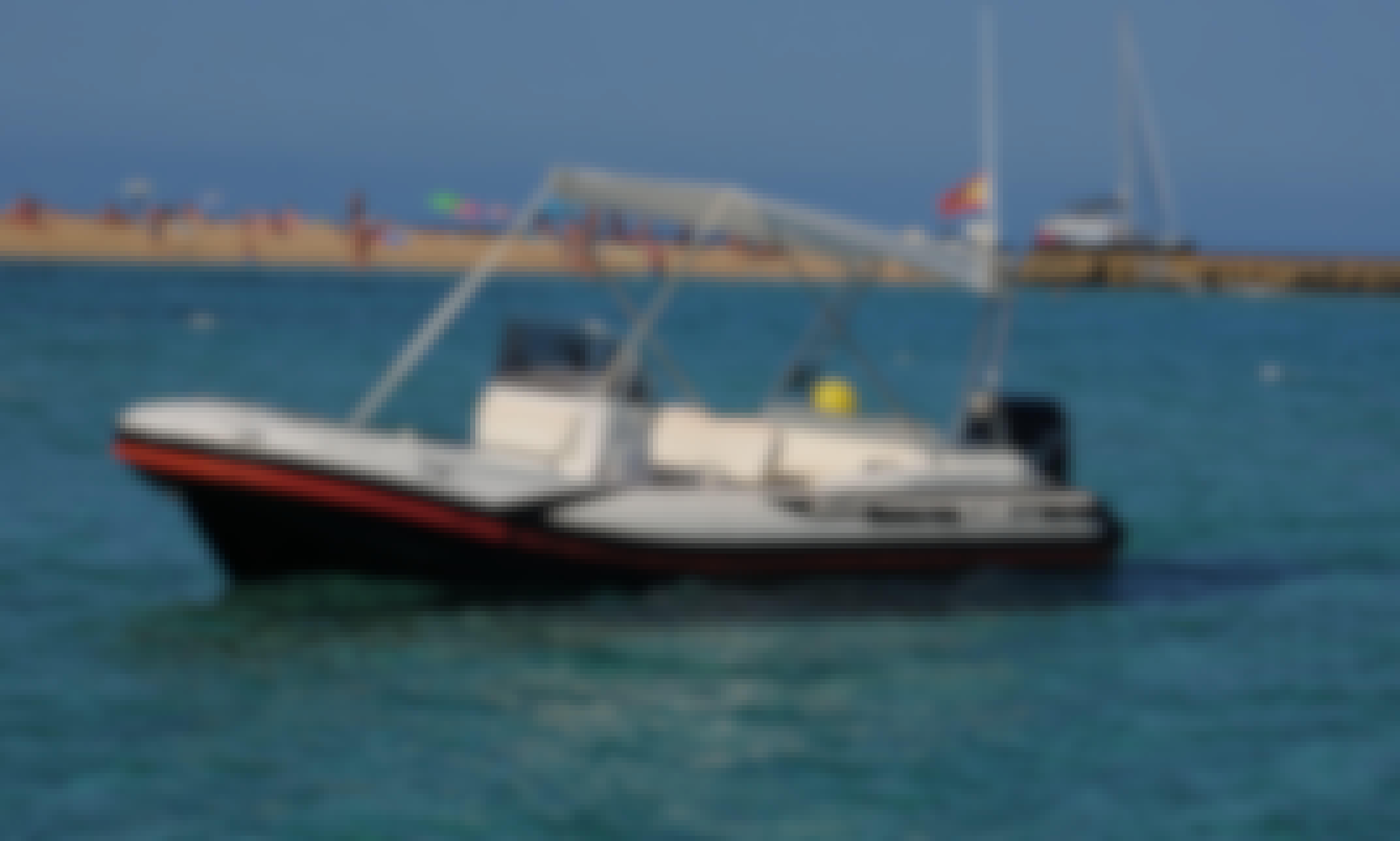 """Luxury Zodiac """"Zar 53"""" ofr Charter in Illes Balears"""