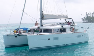 Captained Charter on Lagoon 400 S2 in San Blas, Panama. All  Inclusive
