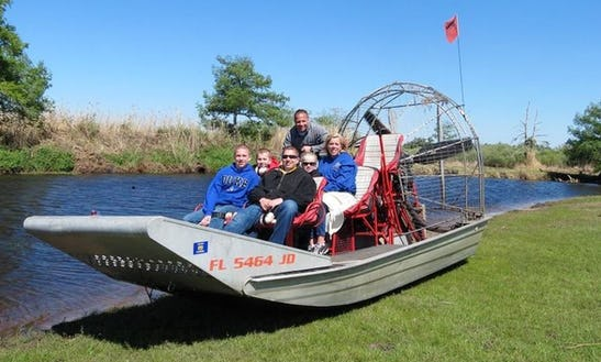 Airboat Cruise On St. John's River