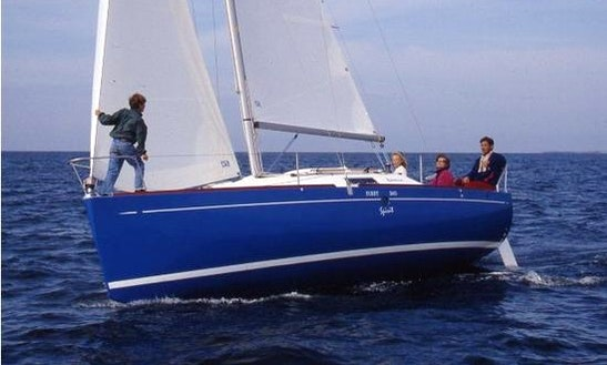 Luxury Cruising Monohull ''beneteau : First 260 Spirit'' Charter In Perros-guirec