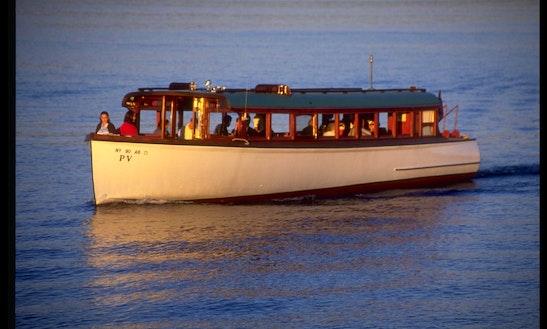 Enjoy Cruising On Skaneateles Lake Mail Boat